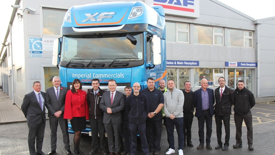 MP for Stoke-on-Trent North pays special visit to Imperial Commercials
