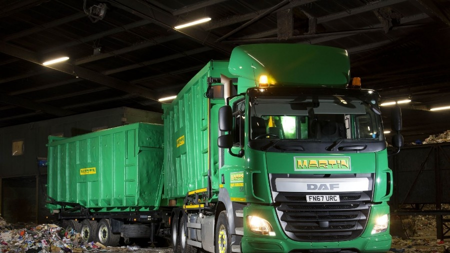 HW Martin Waste Enjoys Boost From New DAF CF's