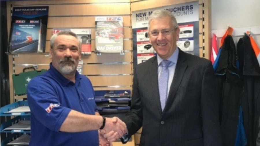 Parts Department Praise at MOTUS Commercials (formerly Imperial Commercials) Worcester