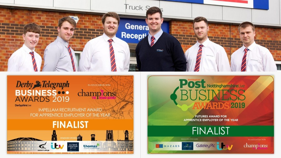 Apprenticeship Programme Shortlisted for Two Local Business Awards