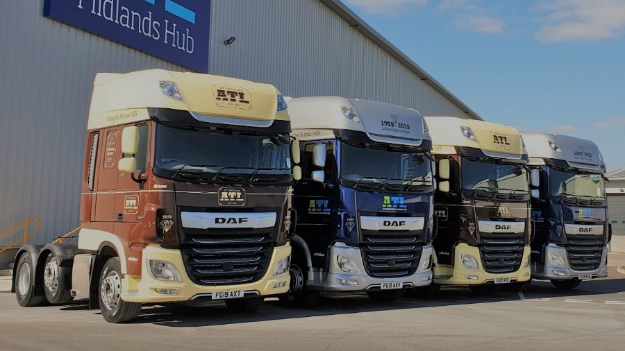ATL Mark 60th Anniversary with New and Unique DAF Trucks