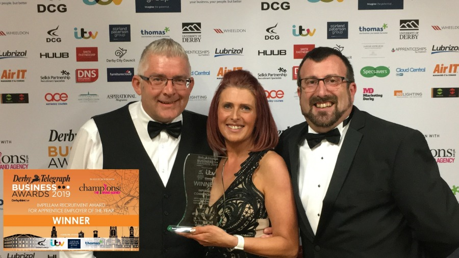MOTUS Commercials Wins Apprentice Employer of the Year