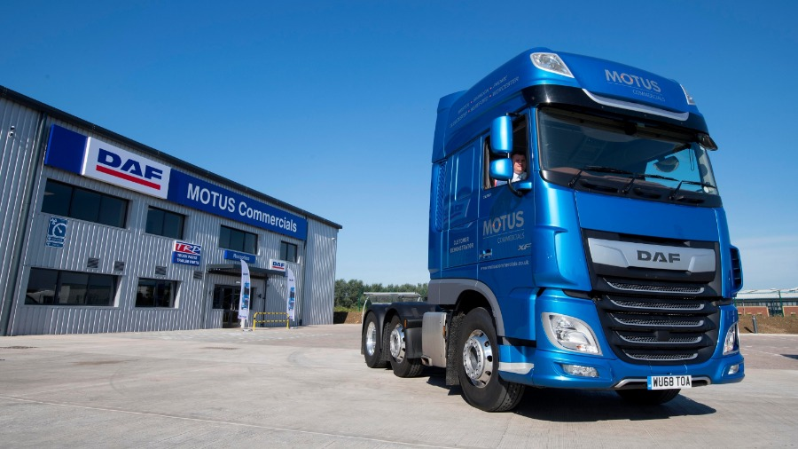 MOTUS Commercials Opens Flagship DAF Site in Gloucester