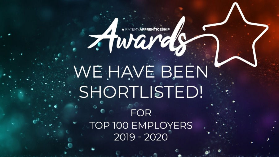Top 100 Apprenticeships Employer 2019-20 and Scotland Regional Shortlisting for MOTUS Commercials