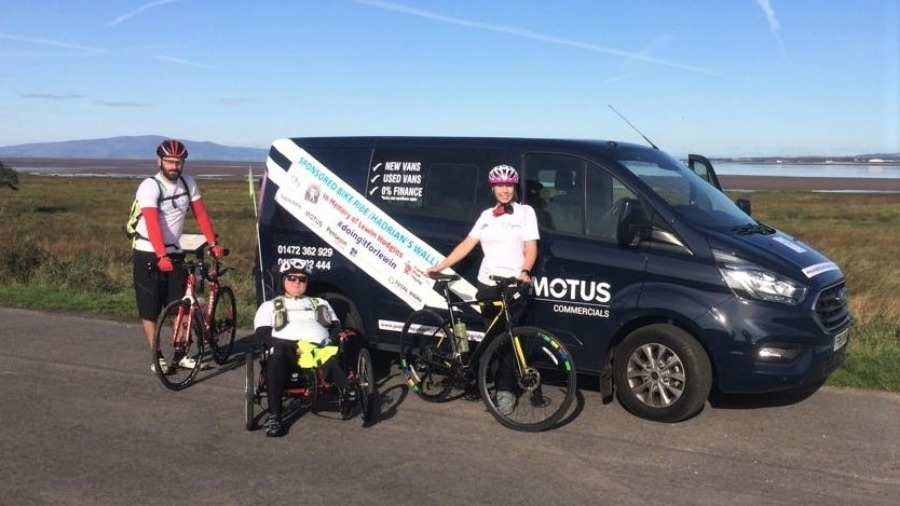MOTUS Commercials Supports #Doingitforlewin Charity Bike Ride