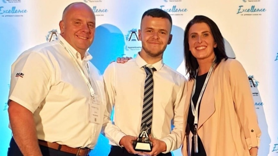 MOTUS Commercials Apprentice is Highly Commended at the National Apprenticeship Awards