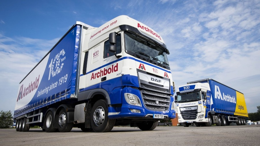 DAF Sets Fuel Standard for Archbold Logistics