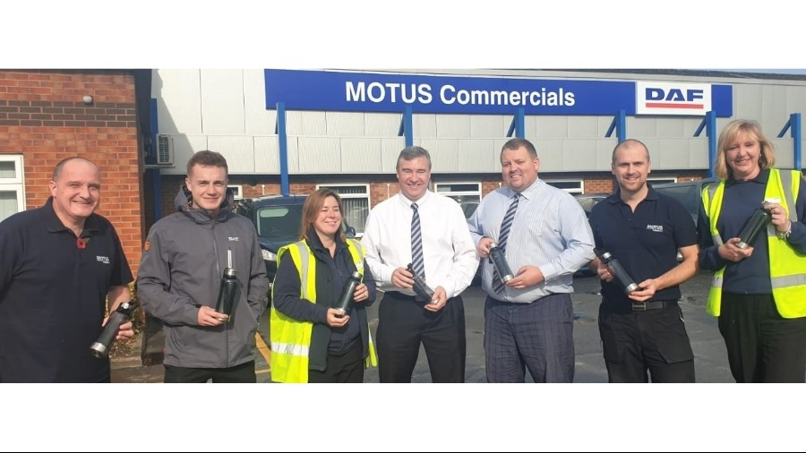 MOTUS Commercials Goes Plastic Free