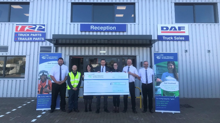 Local Charity Receives Large Donation from MOTUS Commercials