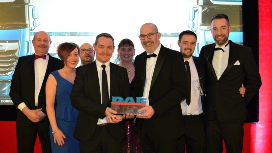 MOTUS Commercials Scoops Top Awards at DAF UK Sales Conference