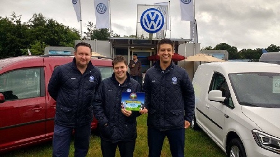 Volkswagen Van Centre Stoke-on-Trent Win 3rd Best Stand at The Nantwich Show