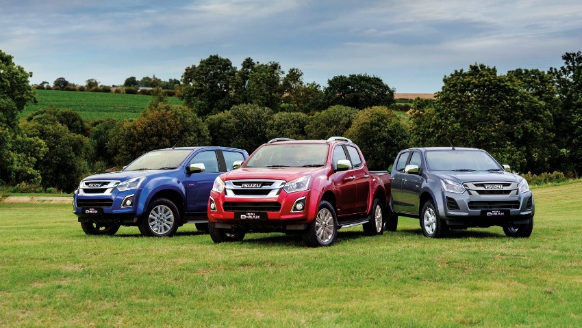 0% APR Across the Isuzu D-Max Range