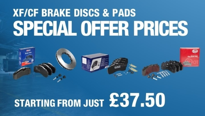 Special Offer Prices on Brake Discs and Pads