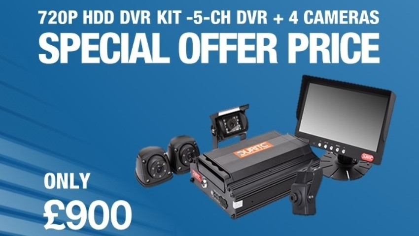 Special Offer Price For 720P HDD DVR Kit With 4 Cameras