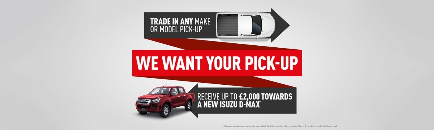 We Want Your Pick-Up
