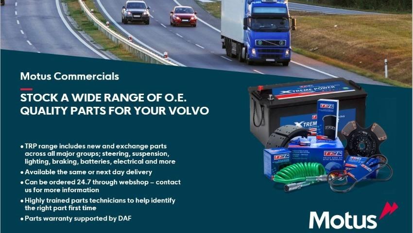 O.E Quality Volvo Parts