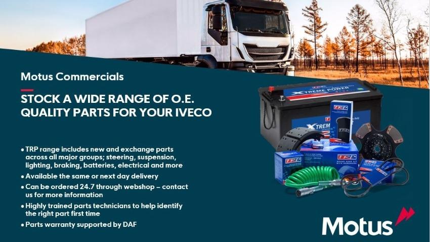 O.E Quality Iveco Parts