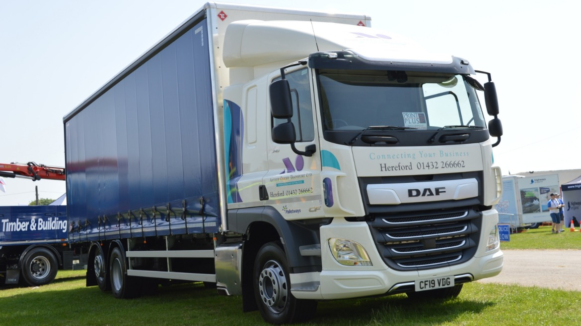 Arthur Oakley Transport DAF CF
