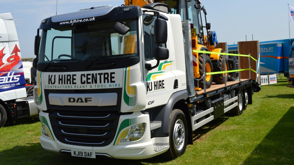 KJ Hire Centre DAF CF