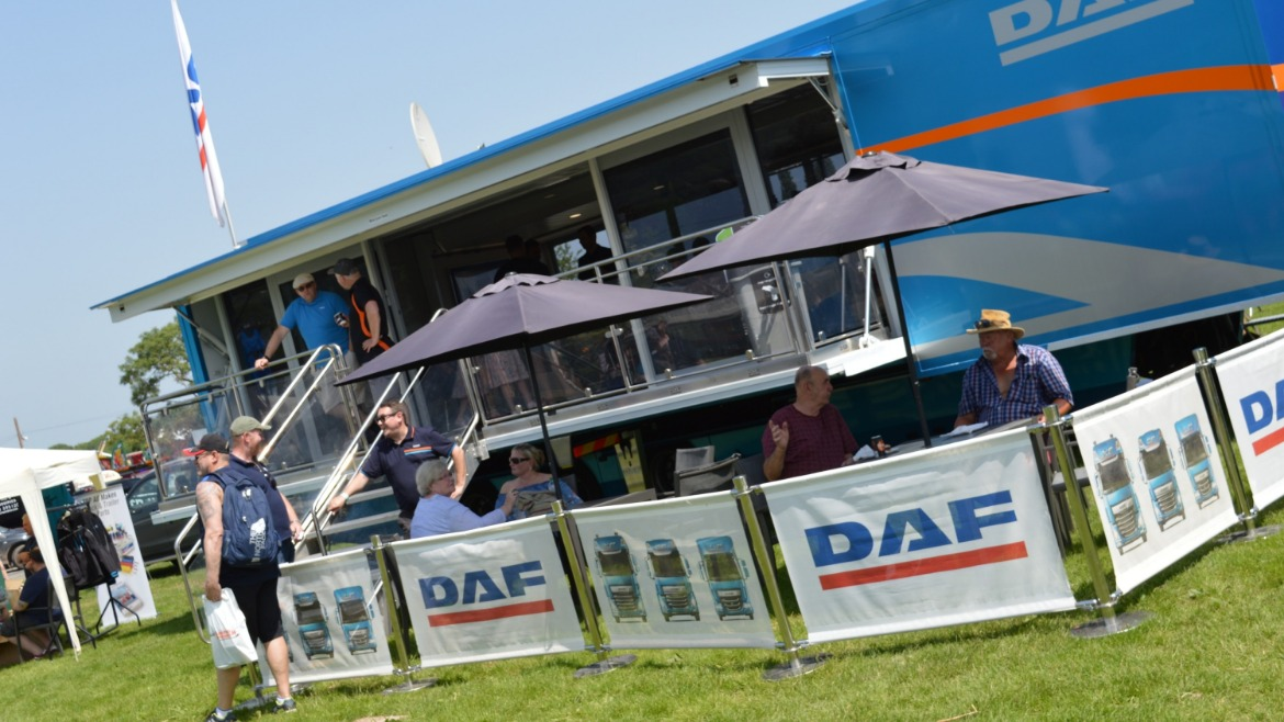 DAF Showtrekker at Truckfest West Midlands & Wales 2019