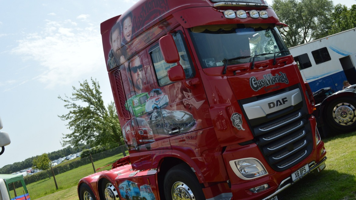 Barry Proctor DAF XF Gas Monkey 1