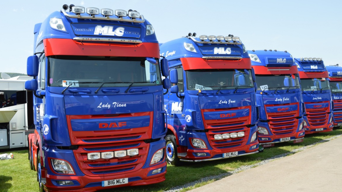 MLC Transport Ltd DAF XF Trucks