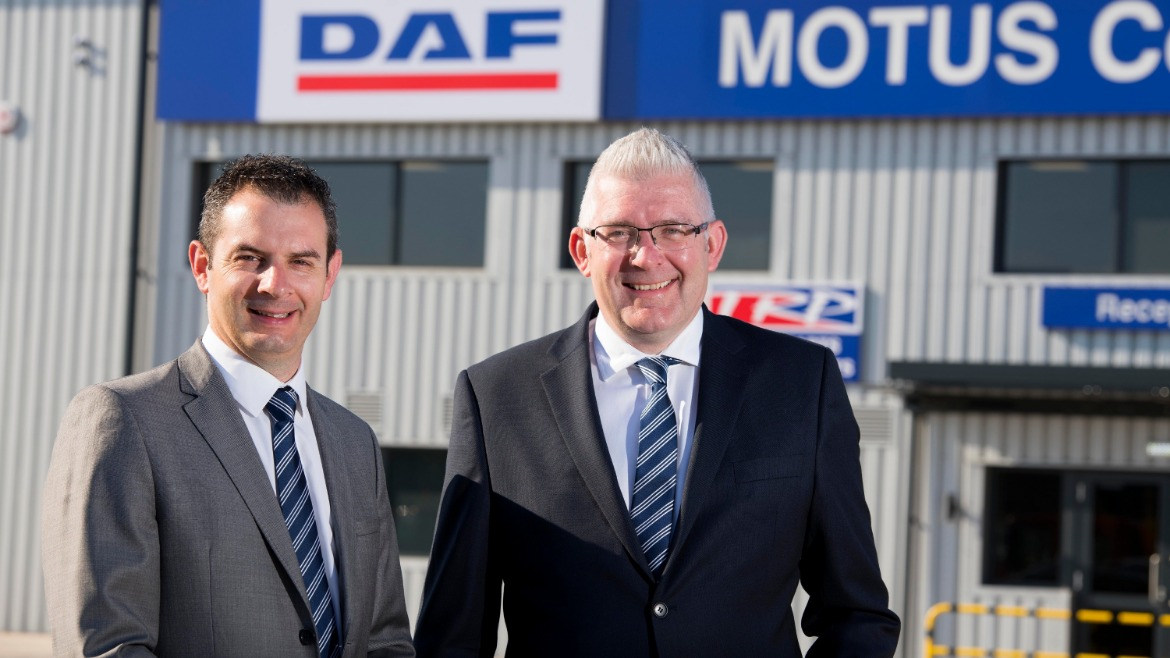Daniel Fitzjohn (Regional Director) and Matthew Lawrenson (Managing Director) both of Motus Commercials