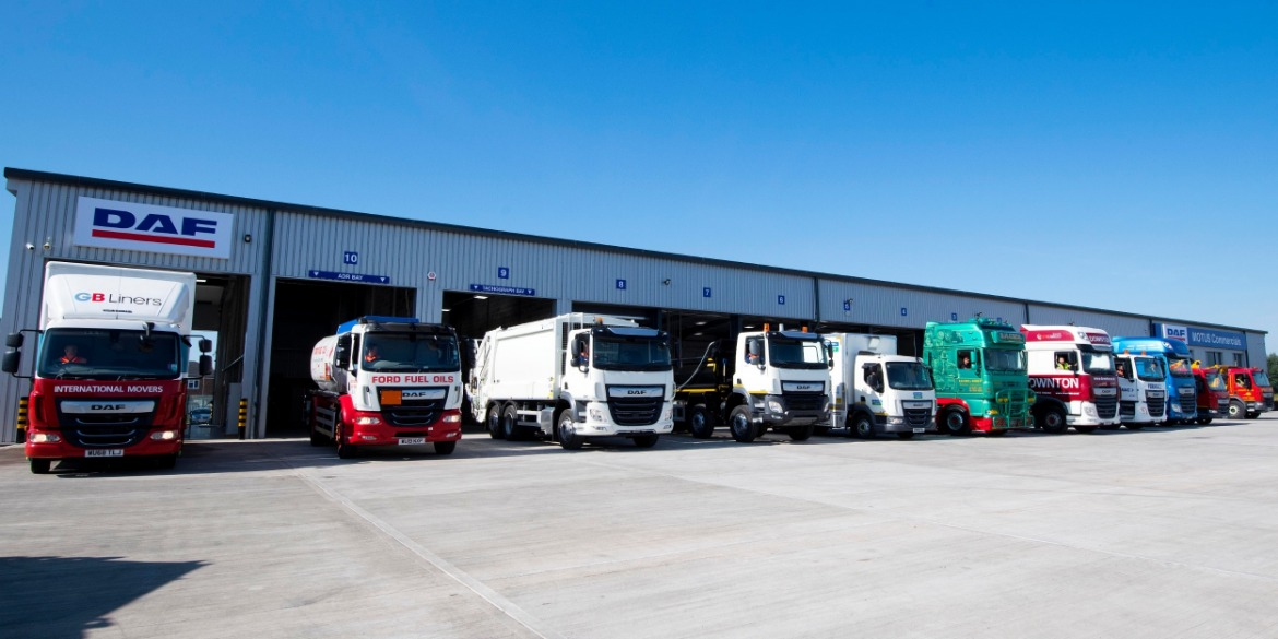 Local DAF customers of Motus Commercials Gloucester